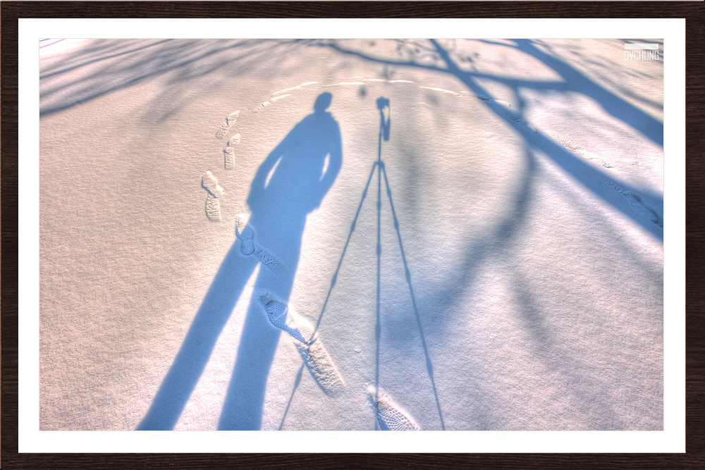 ►►►Snowscape HDR 雪地9連曝 ● DV◄◄◄